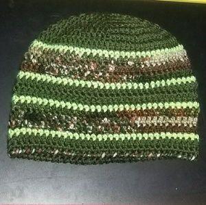 ☆ Camo Crochet Hat ☆